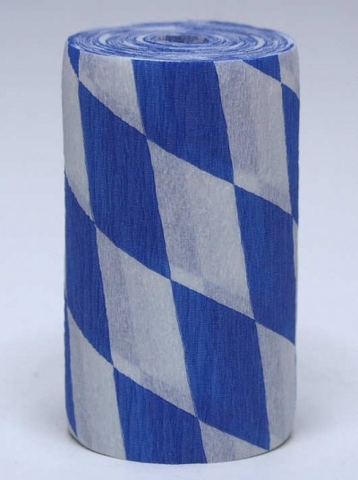 Flaggen-Krepp 10cm/10m