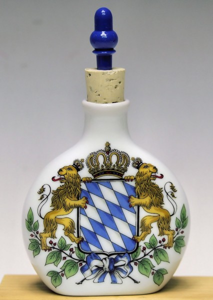 Schnupferflasche, Bayernwappen bunt