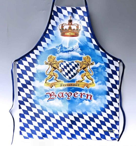 Schürze Freistaat Bayern mit Herz