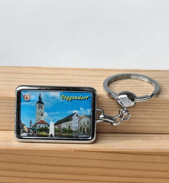 Schlüsselanhänger Deggendorf Stadtbild