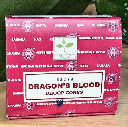 Drachenblut Räucherkegel