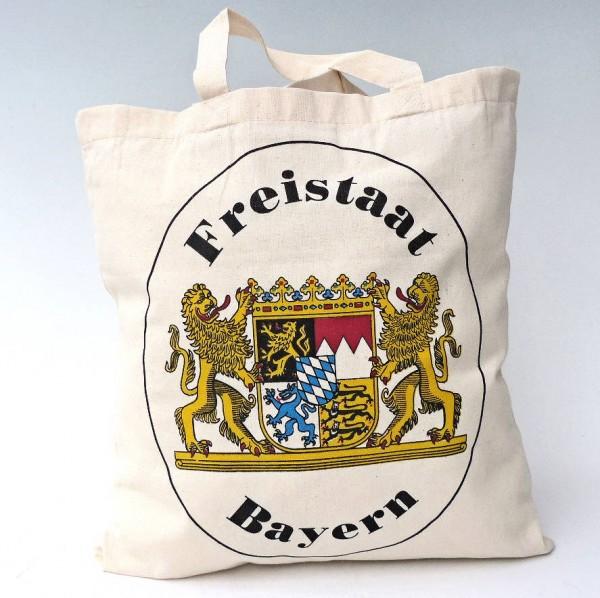 Baumwolltasche Freistaat Bayern